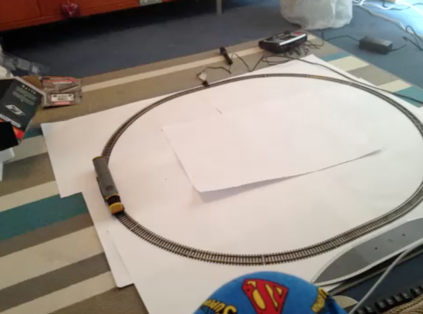 Web enabled Raspberry Pi Controlled Railway