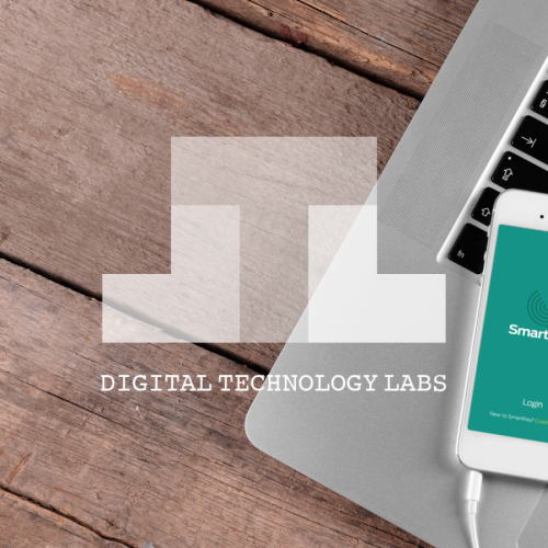 Stunning new Digital Technology Labs branding assets